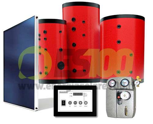 Circolazione Forzata Kit FOR CMS 1006-15 Due Vie