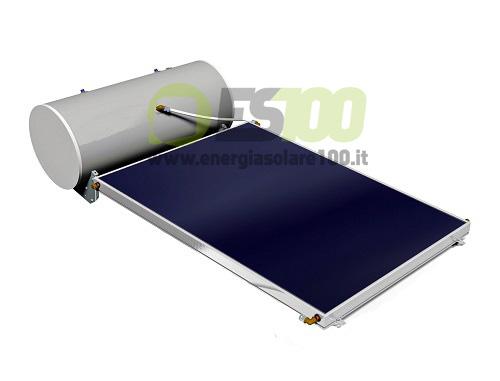 Circolazione Naturale a Glicole Kit EVO 202-4G Plus per Tetto Spiovente