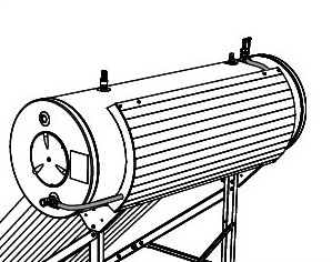 Esempio Montaggio del Modulo ST 200