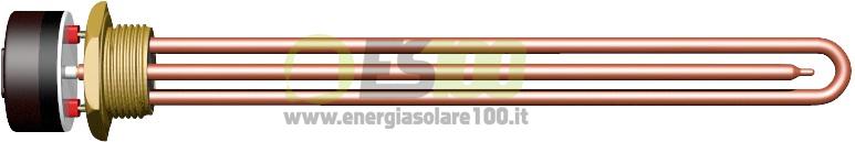 Resistenza Elettrica per Sistema Solare Termico