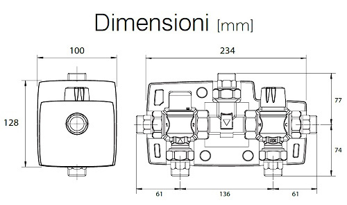 Dimensioni del SolarGroup SP+