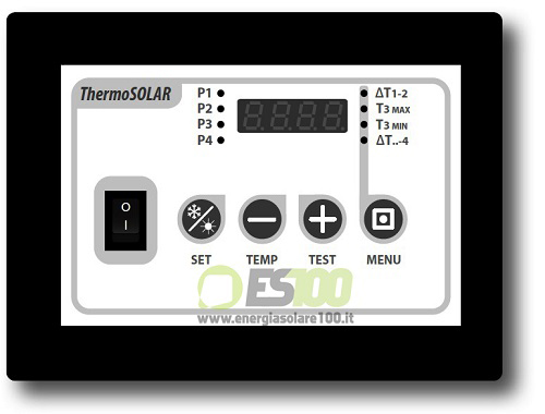 ThermoSolar Box 200 per Sistema Solare Termico