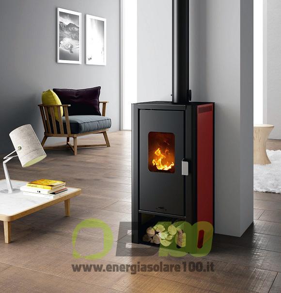 Esempi di Arredamento con Stufa a Legna Mini Wood 7014030