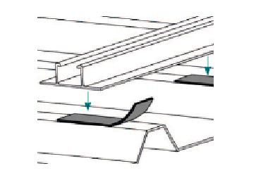 Esempio di Montaggio utilizzando Nastro Guaina Adesivo in EPDM TL057