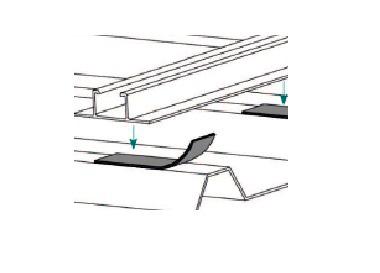 Esempio di Montaggio utilizzando il Nastro Guarnizione Impermeabilizzante in Butilene TL077