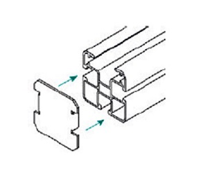 Esempio di montaggio di un Tappo Copriforo TL047.4545