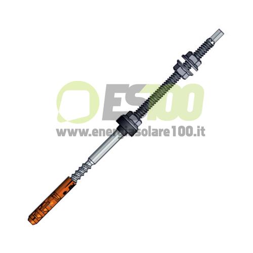 Vite Autofilettante  TL090.M10.300 in Acciaio Inox A2 Doppio Filetto per Calcestruzzo