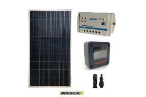 Kit 12V (Pannello Solare + Regolatore + Accessori)