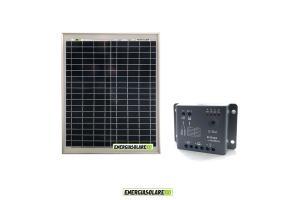 Kit 12V (Pannello Solare + Regolatore)
