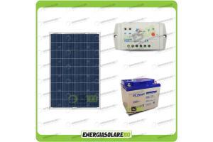 Kit Solare Allarme 12V