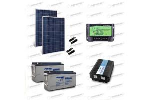 Kit baita off grid con inverter onda pura