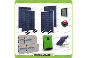 Kit Fotovoltaico a Isola (Off Grid)