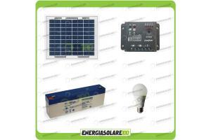 Kit solare per 1 ora di illuminazione