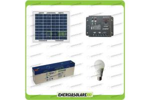 Kit illuminazione solare italiano energiasolare100.com