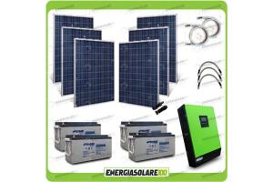 Off Grid MPPT (Batteria inclusa)