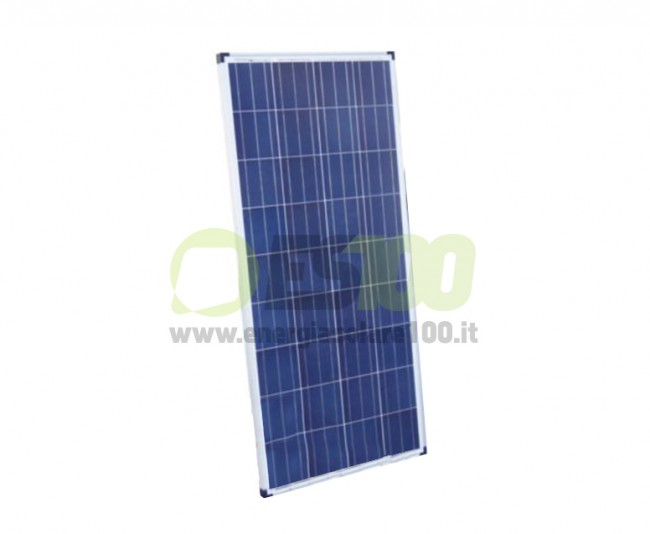 Photovoltaic Solar Panel 30W 12V Polycrystalline PV System Camper Boat Chalet