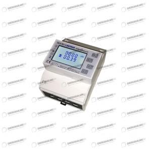 Contatore di Energia trifase/monofase SDM630-MODBUS 100A con guida DIN e uscita impulsi