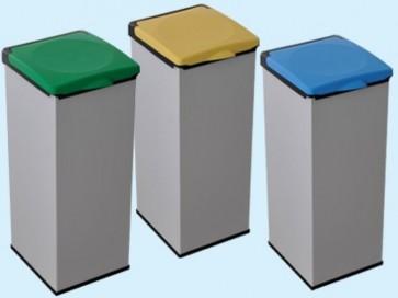 Bidoni 4'OTTO raccolta differenziata Colore Blu