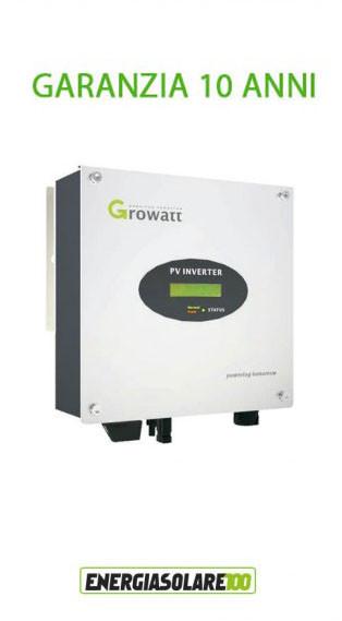 Inverter di Connessione a Rete Growatt 1000-S 1000W Certificato CEI 0-21 (Inverter Connessione alla Rete)