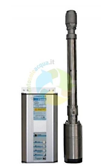 Pompa Sommersa Solare Lorentz PS600 140m 0.5m3/h 300-480W 48-72V