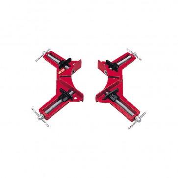 Morsetti ad angolo 90° per conici Valex - corpo in alluminio - apertura 75 mm