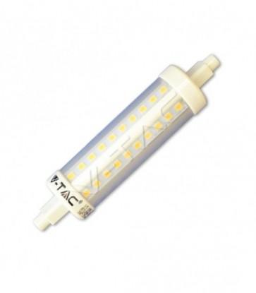 LAMPADA LED R7S 10W 118MM 360 GRADI BIANCO CALDO V-TAC VT-1990 4369