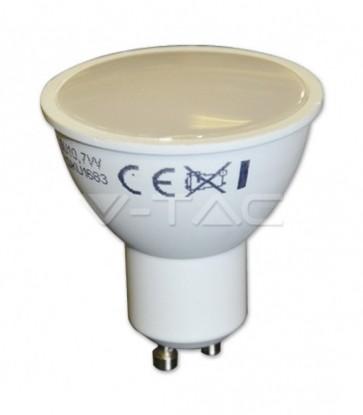 FARETTO LED 7 W GU10 220 V 500 LUMEN 110° V-TAC VT-2779