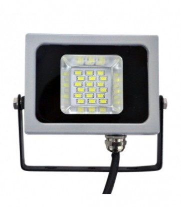 FARO LED PROIETTORE ULTRASLIM LUCE FREDDA PER ESTERNO 10 W IP65 V-TAC VT-4810