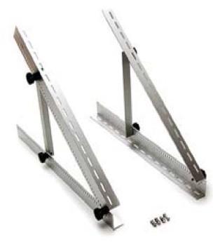 Supporto regolabile per pannelli solari in alluminio 65cm