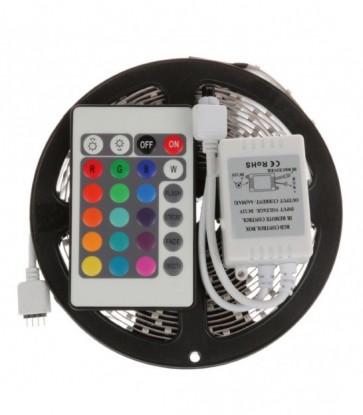 KIT STRIP LED 5050 IP20 RGB + ALIMENTATORE + CONTROLLER