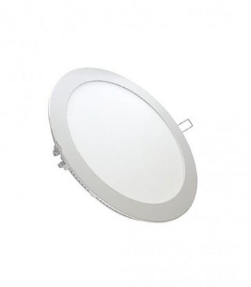 PANNELLO A LED PER INCASSO TONDO 24 WATT WHITE 6000 K  V-TAC VT-2407RD