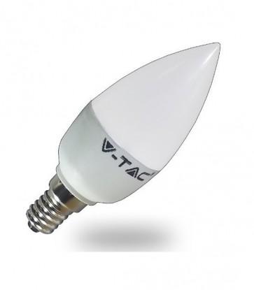 LAMPADINA E14 LED 6 W OLIVA  LUCE A SCELTA