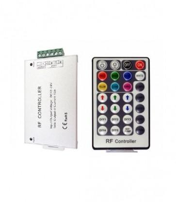 RGB CONTROLLER CON TELECOMANDO 28 TASTI 12/24 DC