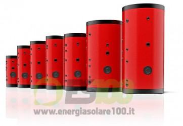 Bollitore Serie DS 500 per Sistema Solare Termico