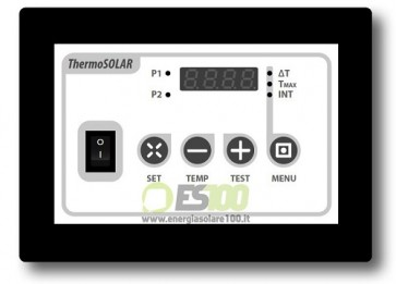 Centralina Differenziale Thermo Solar Box 100 per Solare Termico