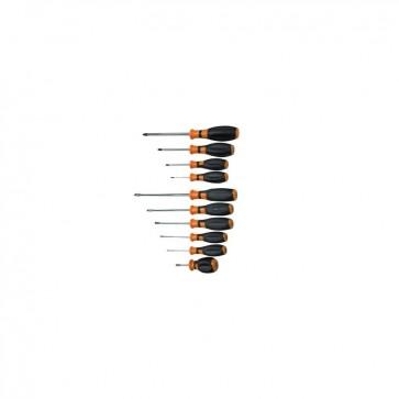 Cacciaviti per viti con intaglio e phillips serie 10 pezzi CVR 1463813