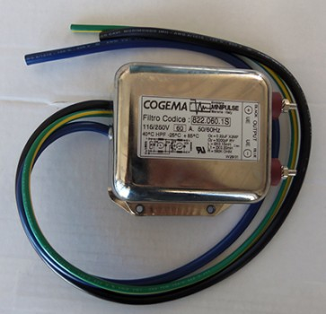 Filtro di rete Cogema 60A 115/250V 50/60 Hz