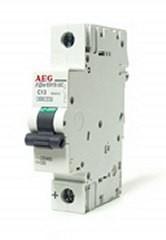 Interruttore automatico 50A 1P AEG per corrente continua curva B