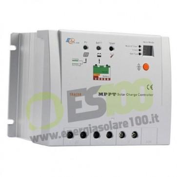 Regolatore di carica MPPT Tracer 20A 12/24V (100 Voc ) timer
