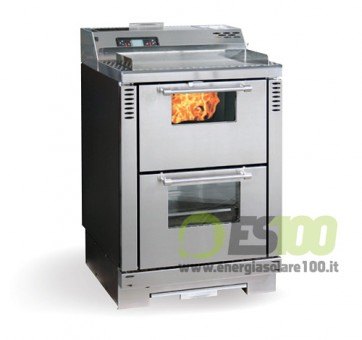 Cucina a Pellet Family Metallo Scarico Fumi Poster/Super 7,5 KW