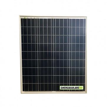 Pannello Solare Fotovoltaico 80W 12V Camper Barca Giardino impianto Baita + Ebook