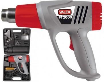 Pistola termica PT VALEX aria calda 2000W temp 350° e 600°  1352012