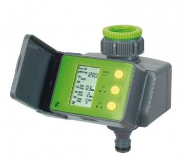 """Programmatore irrigazione digitale a batteria con presa 1"""" e riduzione 3/4"""""""