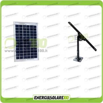 Kit Pannello Solare 5W EJ con Supporto di fissaggio Regolabile