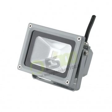 Faro LED 10W 230V 5000k Luce Fredda in Alluminio IP65