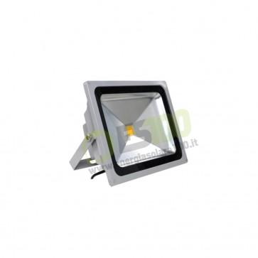 Faro LED 30W 220V 5000K Luce Fredda in Alluminio IP65