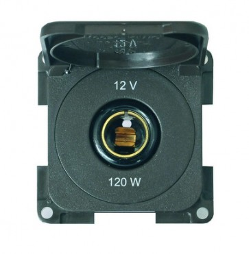 Presa 12V standard con coperchio MP12C
