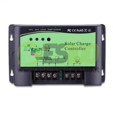 Regolatore di Carica Solare 12/24V 20A NvSolar serie E Uscita LVD HVD