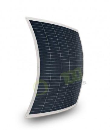 Pannello Solare flessibile 160W con anelli di fissaggio