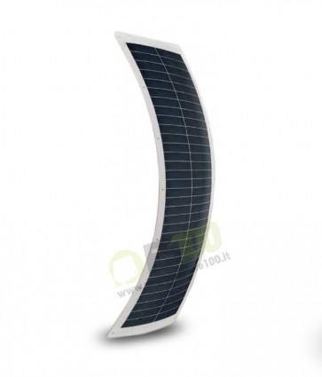 Pannello Solare flessibile 53W 24V con anelli di fissaggio